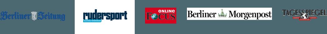 Berliner Zeitung - Rudersport - Fokus Online - Berliner Morgenpost - Tagesspiegel