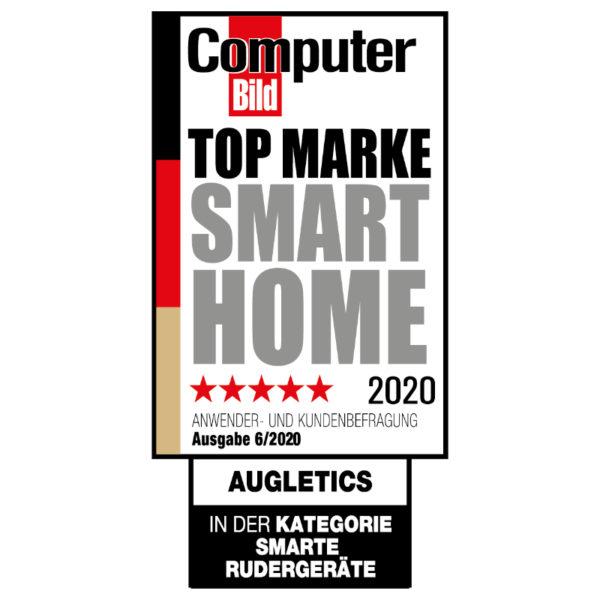 Augletics Computer Bild Badge Top Brand Smarte Rudergeräte