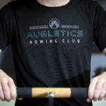Augletics t-shirt front print rowing