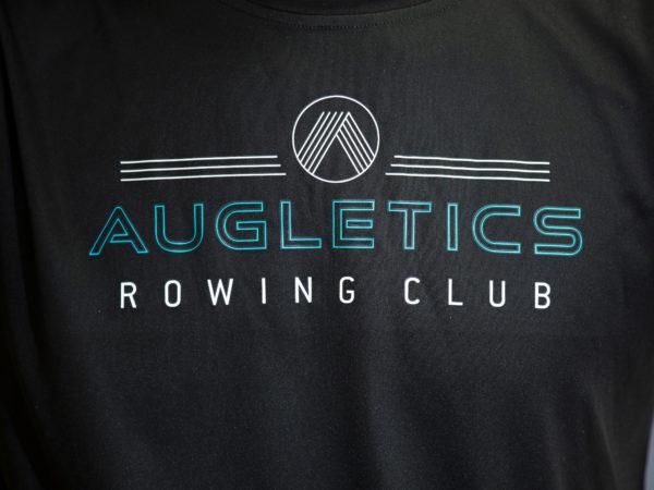 Augletics t-shirt front print detail